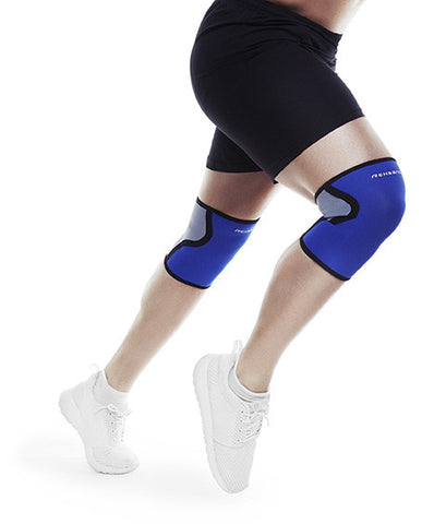 REHBAND BASIC KNEE SUPPORT 3MM BLUE - Athlete Specific