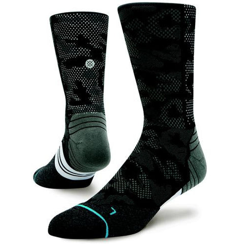 STANCE RUN MENS HYSTERIC CREW SOCKS - Athlete Specific