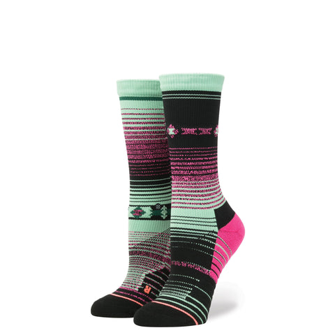 STANCE WOMENS ATHLETIC FUSION ACAPULCO CREW SOCKS - Athlete Specific
