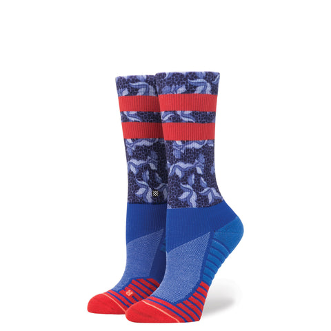 STANCE WOMENS ATHLETIC FUSION MIDNIGHT GARDNER CREW SOCKS - Athlete Specific