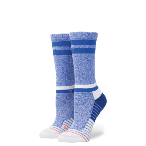 STANCE WOMENS ATHLETIC FUSION SKY STATIC CREW SOCKS - Athlete Specific