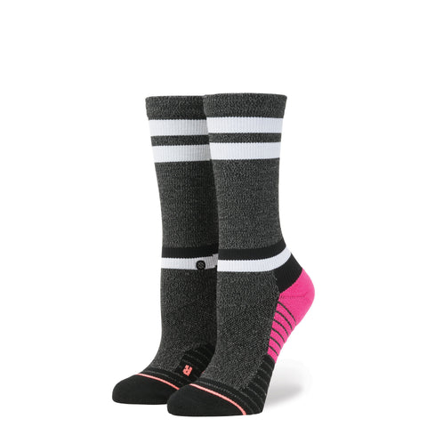 STANCE WOMENS ATHLETIC FUSION VILLAINESS CREW SOCKS - Athlete Specific