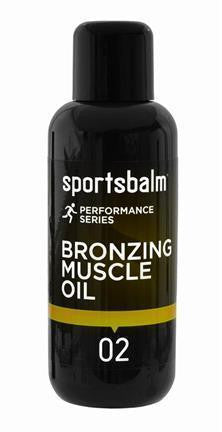 Sportsbalm Bronzing Muscle Oil - Athlete Specific
