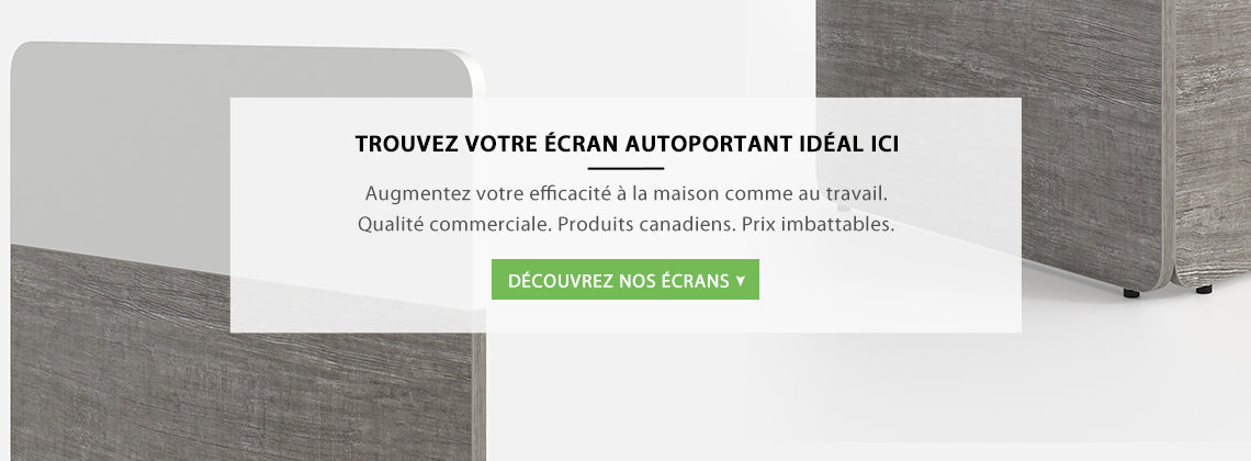 Écrans autoportants
