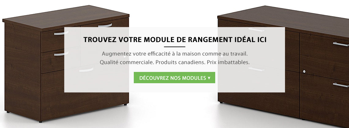Modules de rangement