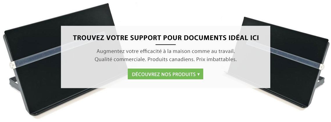 Supports pour documents