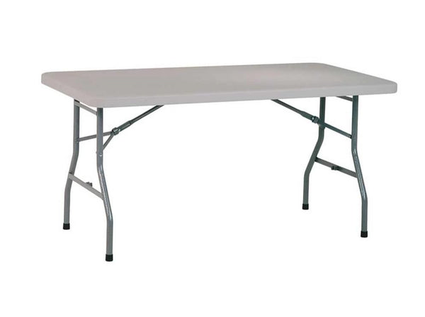 Table pliante 5' en résine multiusage - Office Star - Série Work Smart **Livraison Gratuite**