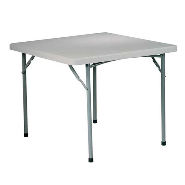 Table pliante carré 3' en résine multiusage - Office Star - Série Work Smart **Livraison Gratuite**