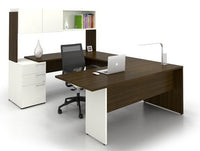 Lacasse mobilier de bureau en U - Collection CA CA1ES-PLAN01