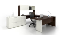Lacasse mobilier de bureau en U - Collection CA CA1ES-PLAN05