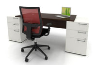Lacasse mobilier de bureau double caisson - Collection CA CA1ES-PLAN07
