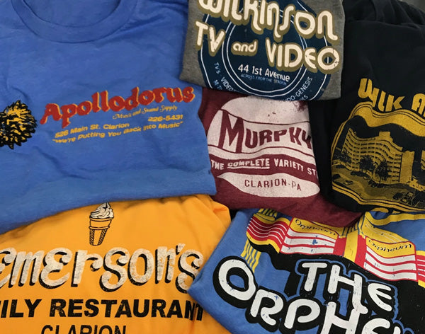 Clarion Vintage T-shirts are top sellers!