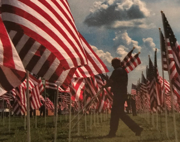 "Gratitude Today and Always! ""Home of the Free, because of the Brave."""