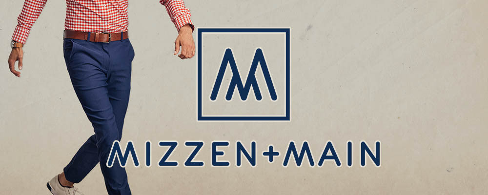 Mizzen and Main Chinos collection