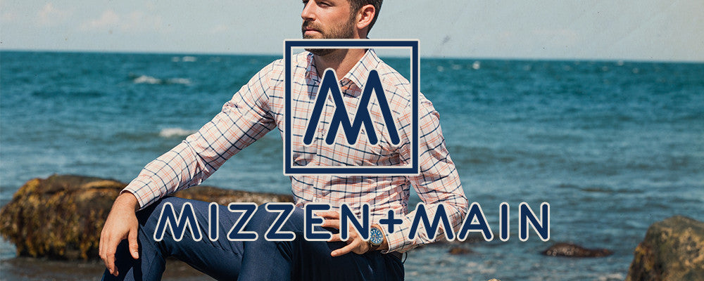Mizzen and Main shirts Leeward collection