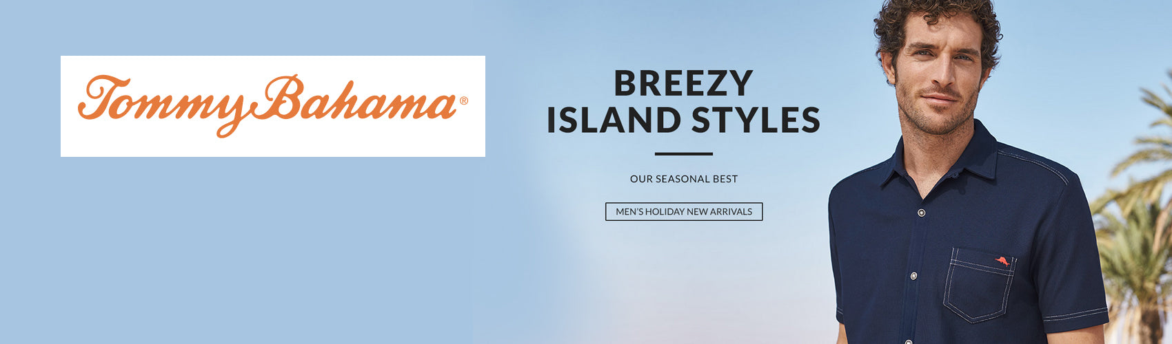 Tommy Bahama island wear and lifestyle wear