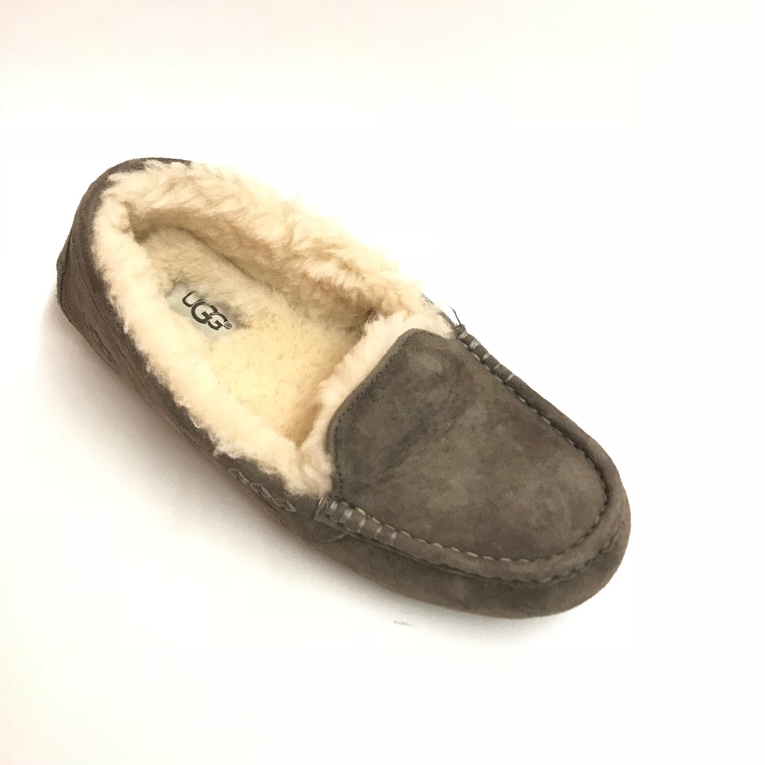 5eaef3c64f6 Women's UGG | Ansley Wool Slipper - Size 7 only | Slate Grey