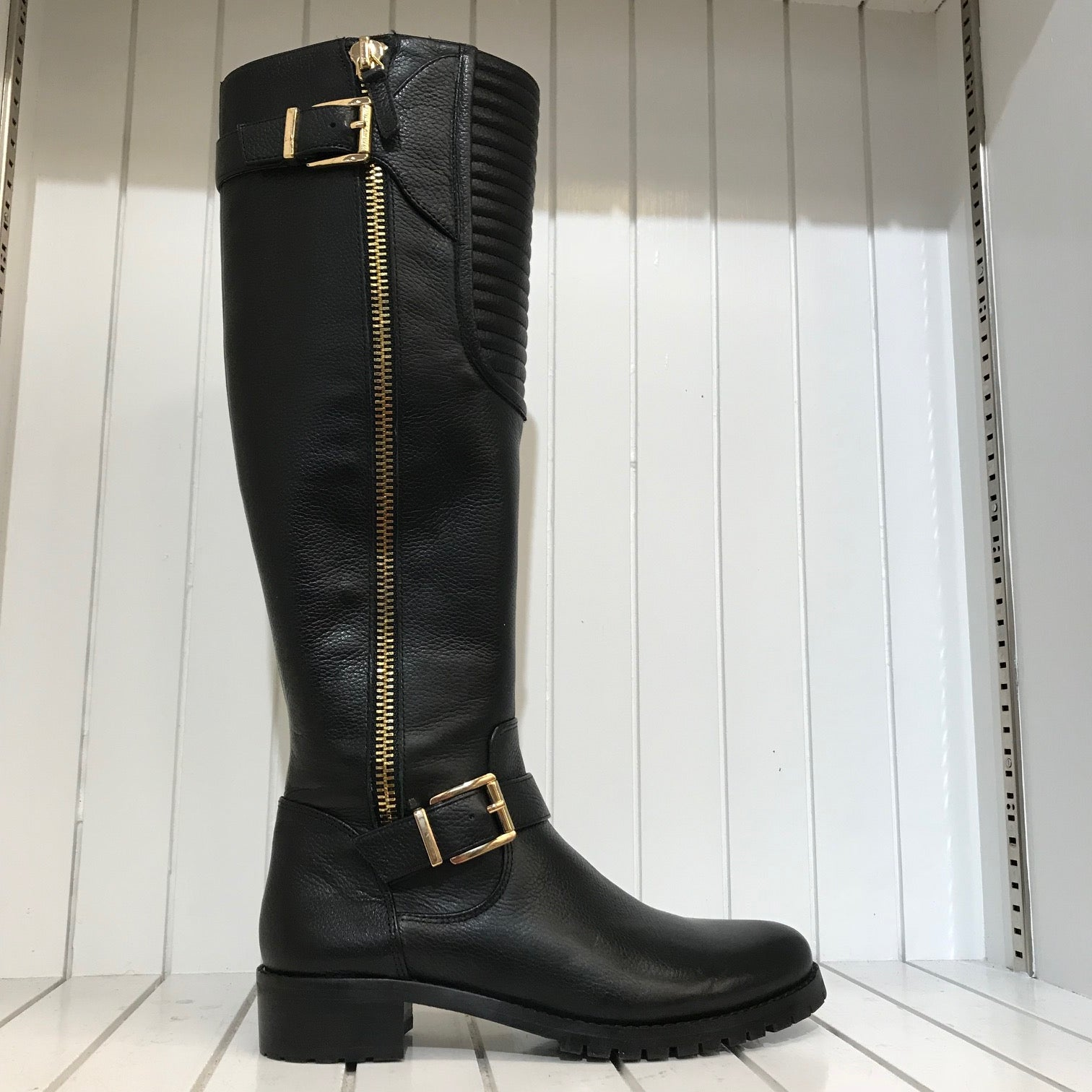 Women's Vince Camuto | Jamina Leather Riding Boot | Black