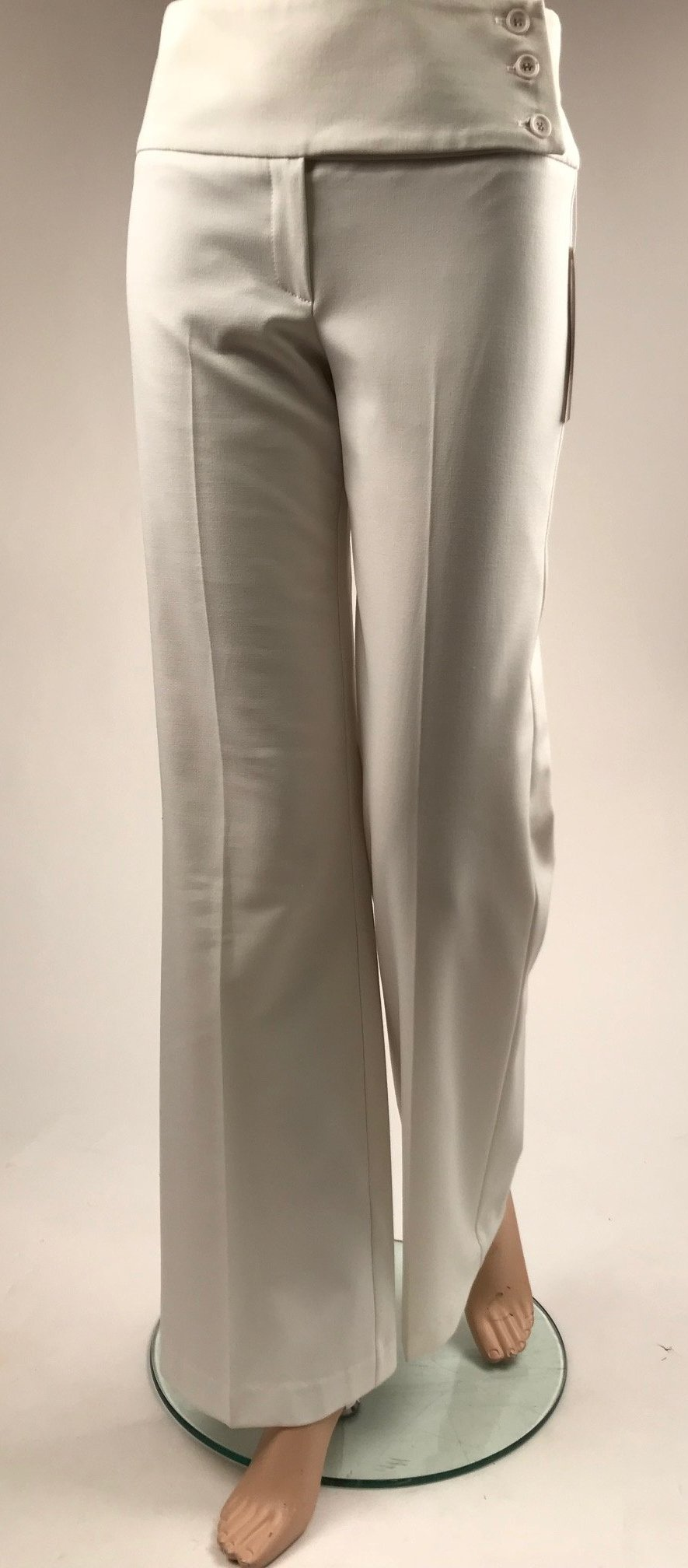 d2b9d059 Women's Margaret M | Wide Leg and Wide Waistband Fashion Pant | Winter  White | Size 0 only