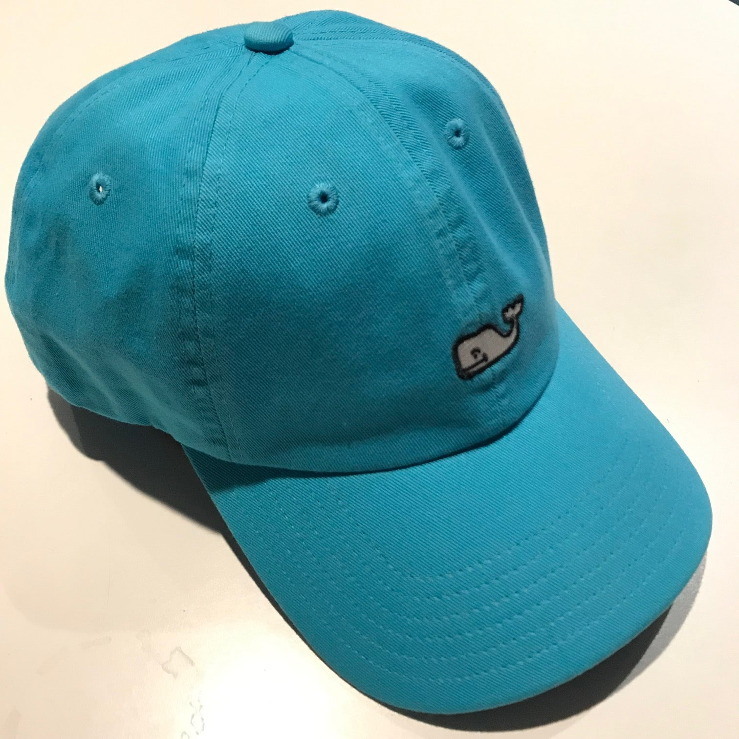 fe72600e7 Men's Vineyard Vines | Whale Logo Baseball Hat | Aqua Blue