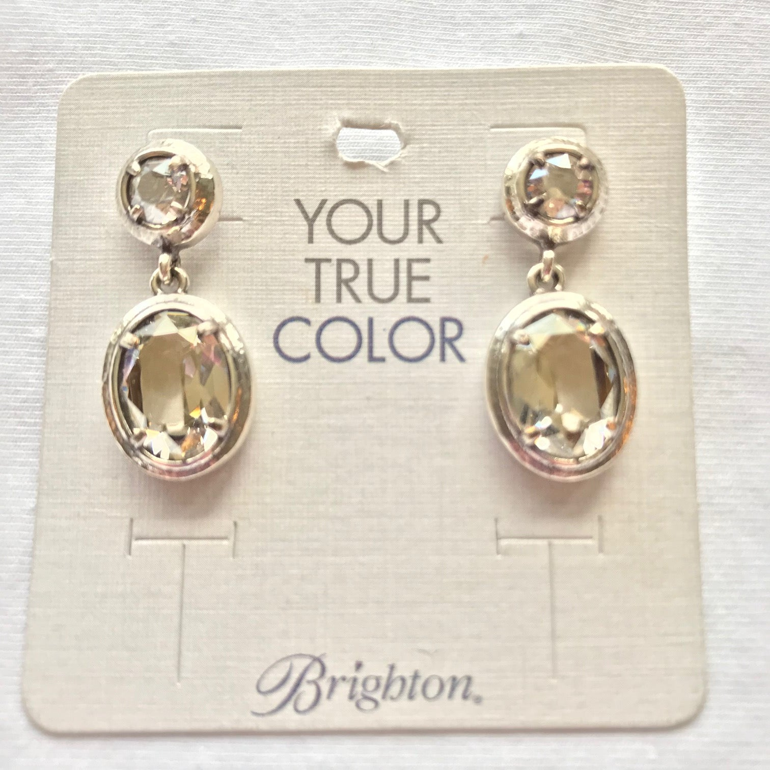 Women's Brighton | Your True Color Blessed Earrings | Silver