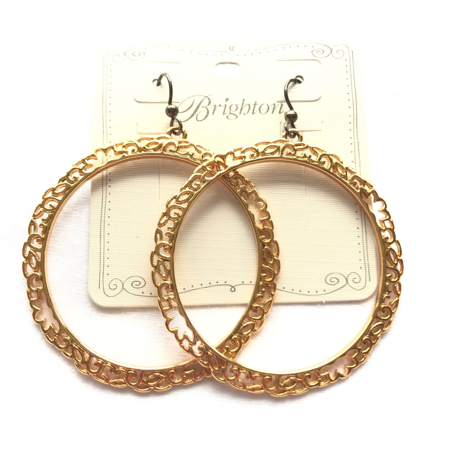Women's Brighton | Pacific Large Hoop French Wire Earrings | Gold
