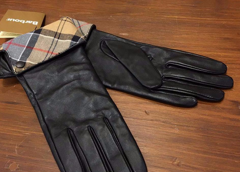 Barbour black leather utility gloves - Women S Barbour Lady Jane Leather Glove Black With Dress
