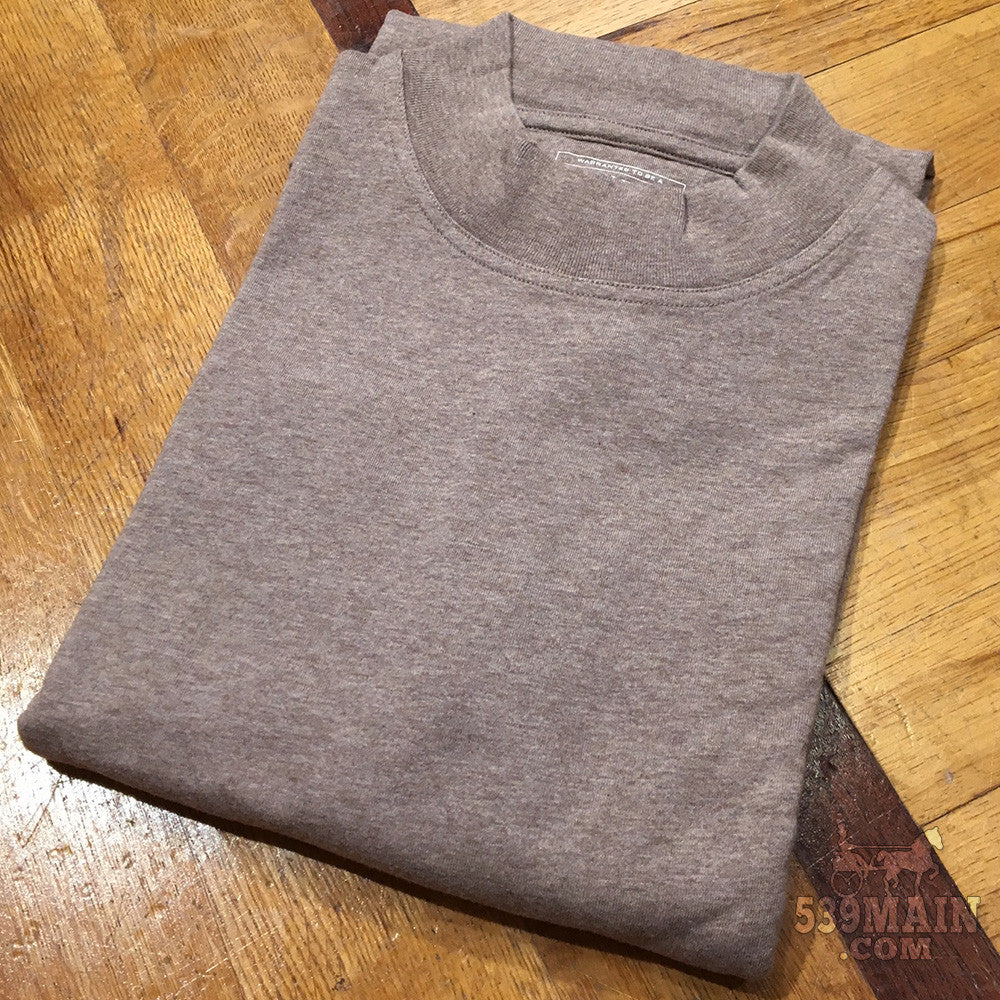 Men's Pendleton | Deschutes Mock Neck | Mocha Heather