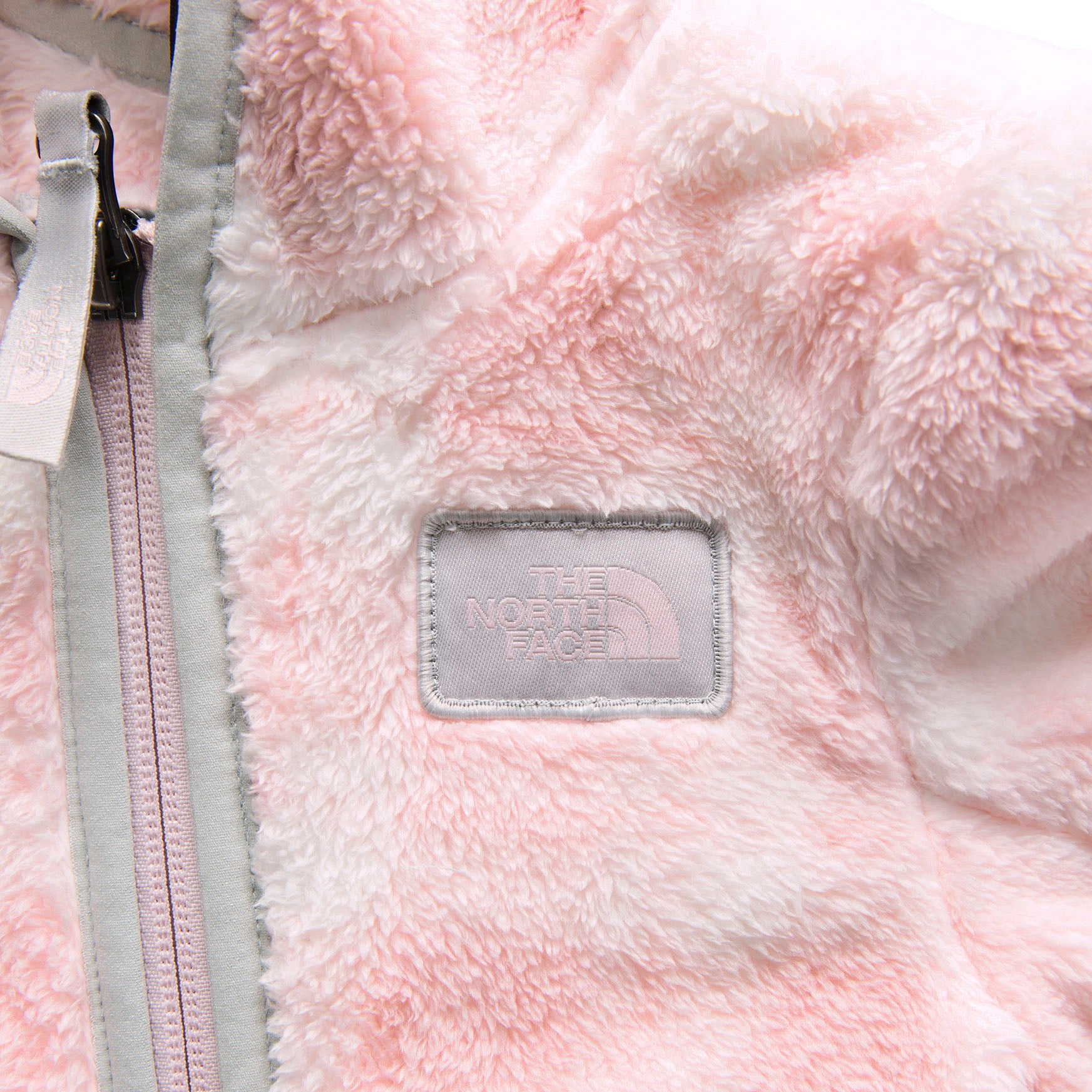 eade24a9a Infants' The North Face | Campshire Bear Hoodie | Purdy Pink Pretty Plaid  Print