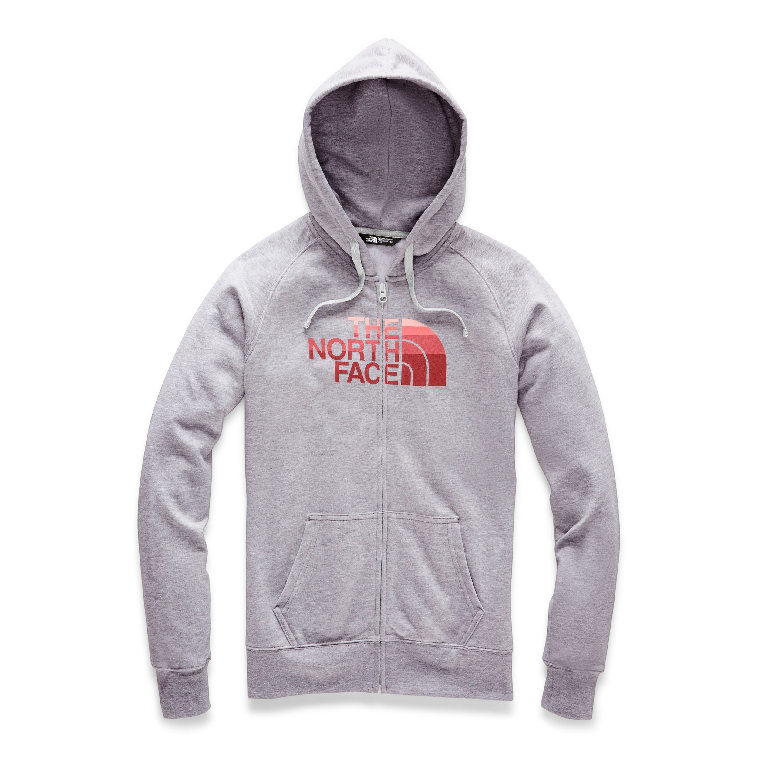 7be09043e Women's The North Face | Half Dome Full Zip Hoodie | Light Grey Heather