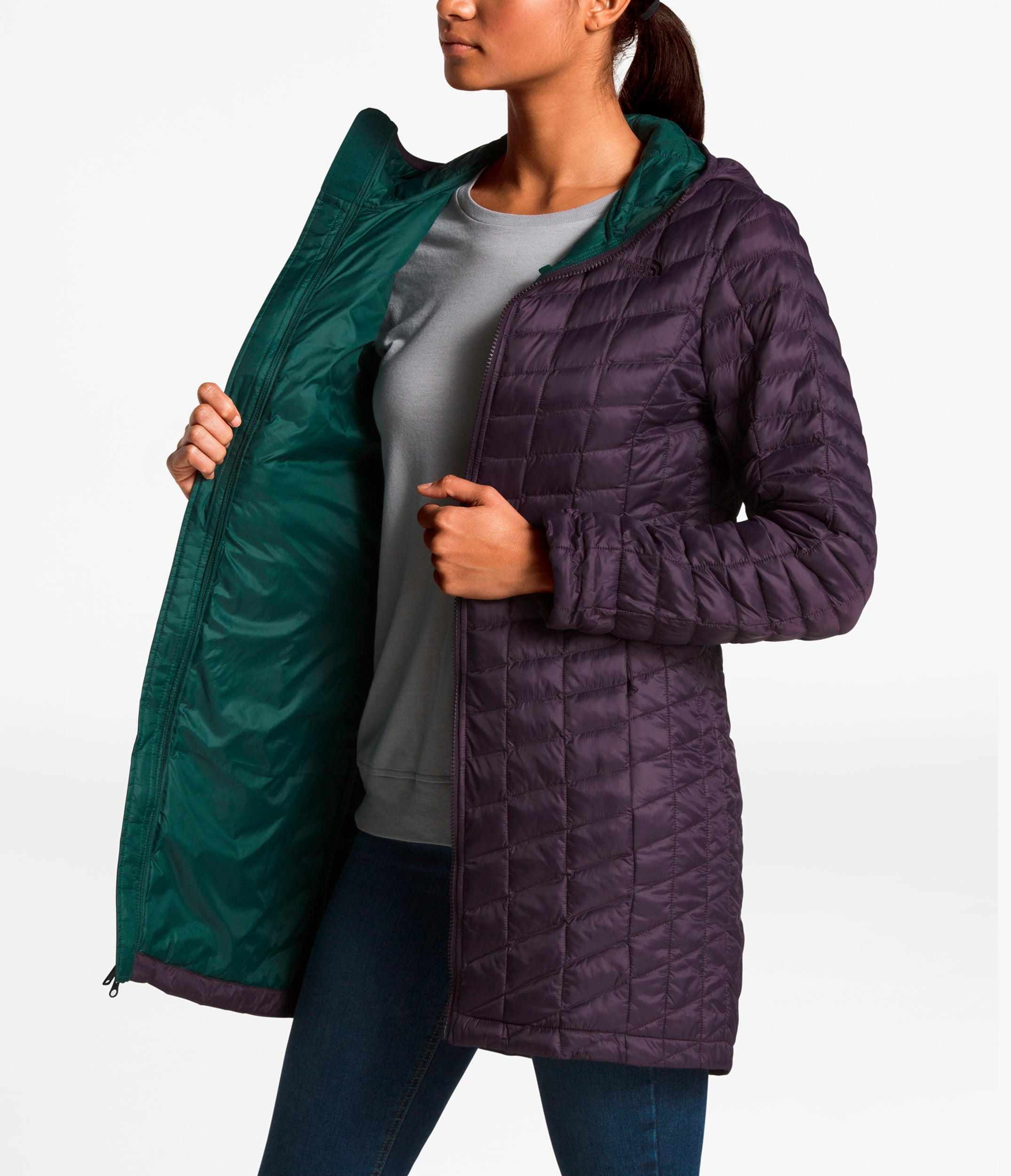 e65273c81 Women's The North Face | Thermoball™ Classic Hooded Parka | Galaxy Purple