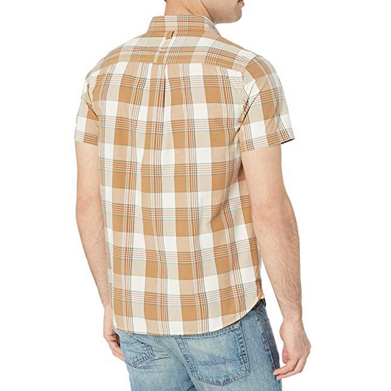 fb614de12 Men's The North Face | Short Sleeve Hammetts Shirt | Vintage White Mylo  Plaid