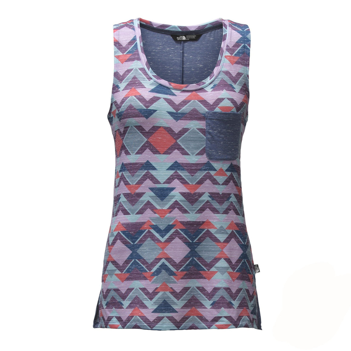 Women's The North Face | EZ Tank | Honeysuckle Pink Triangle Tribal Print