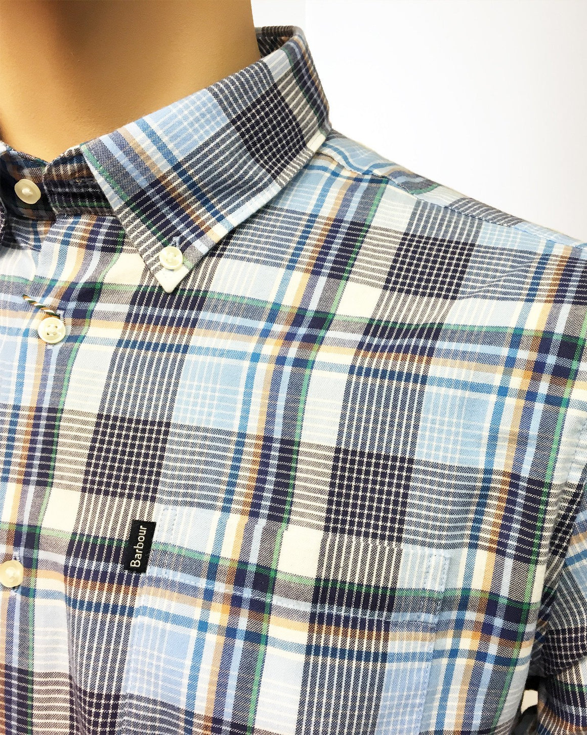 Men's Barbour | Warren Shirt (Tf) | Sky