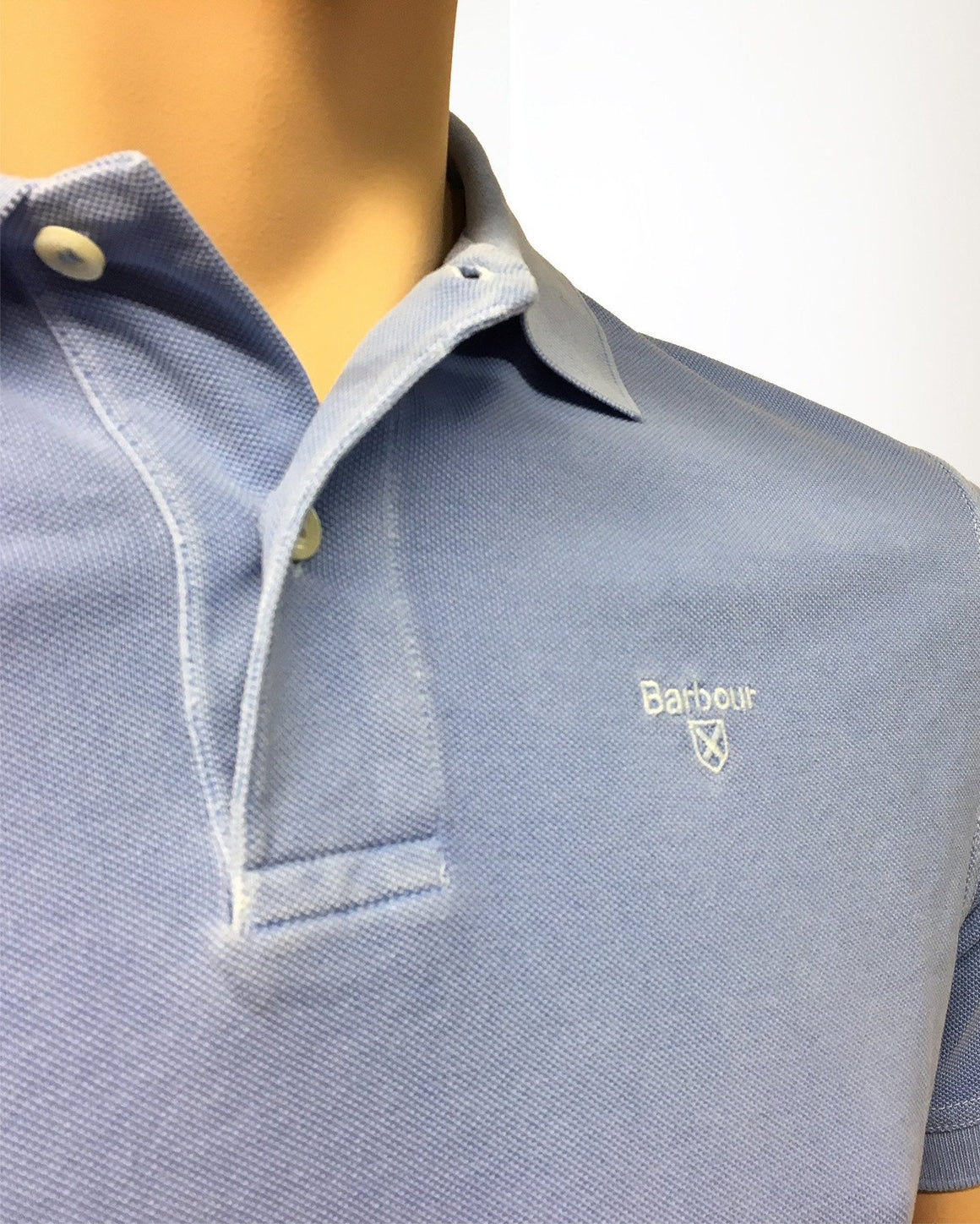 Men's Barbour | Washed Sports Polo | Sky