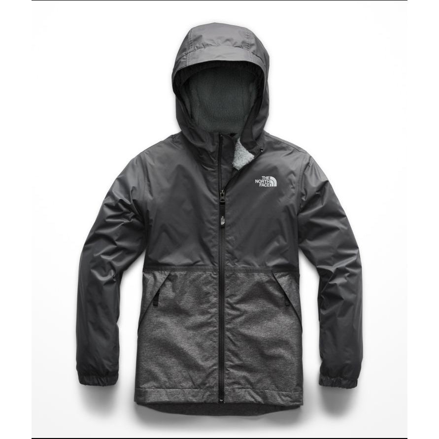 16c05a10b Boys' The North Face | Warm Storm Jacket | Graphite Grey