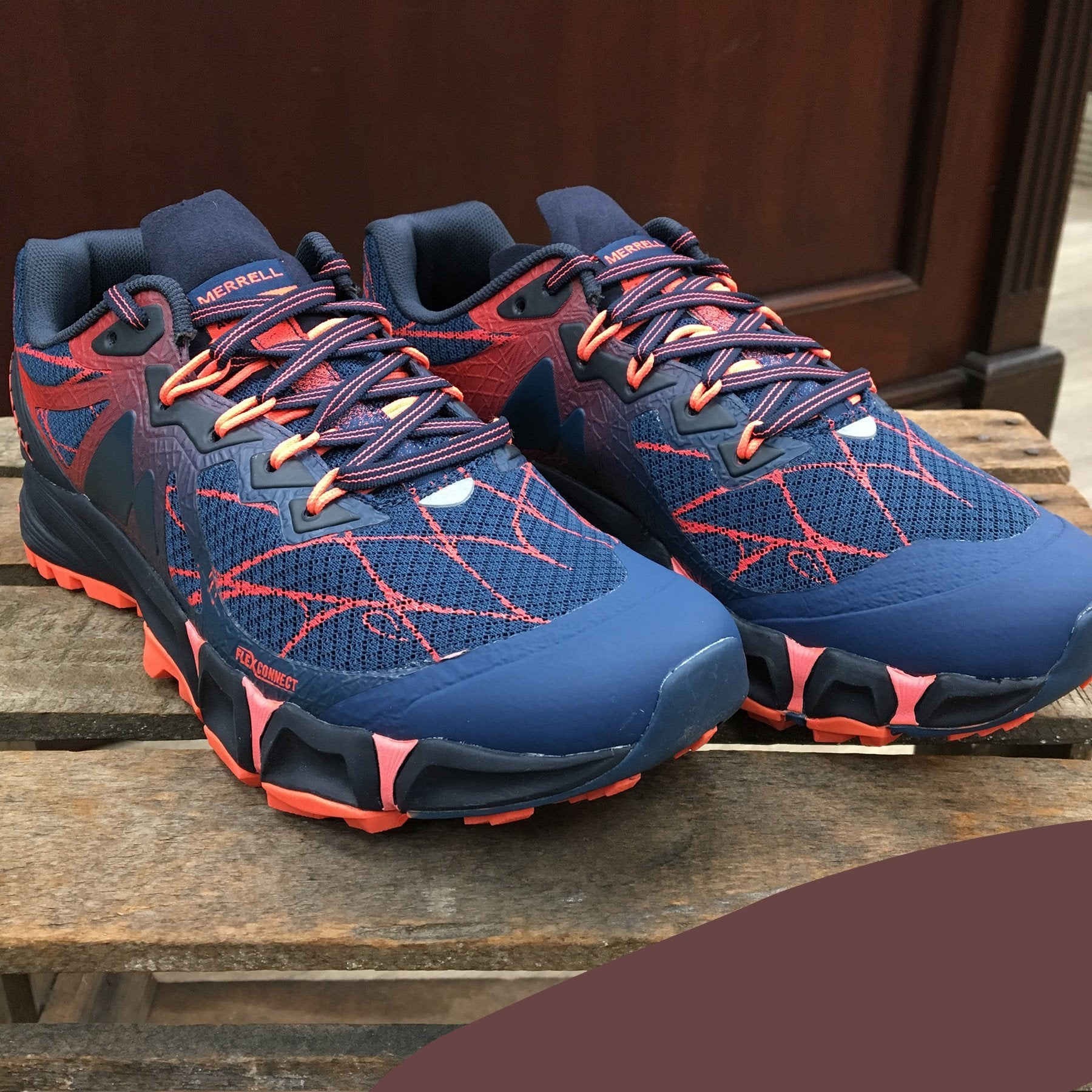 Women's Merrell | Agility Peak Flex | Navy | J37714 - FL Crooks ...