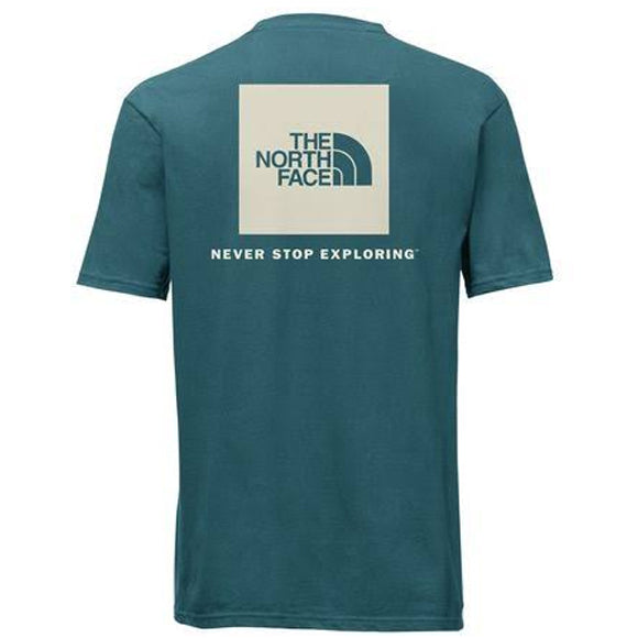 Men's The North Face | Red Box Tee | Blue Coral