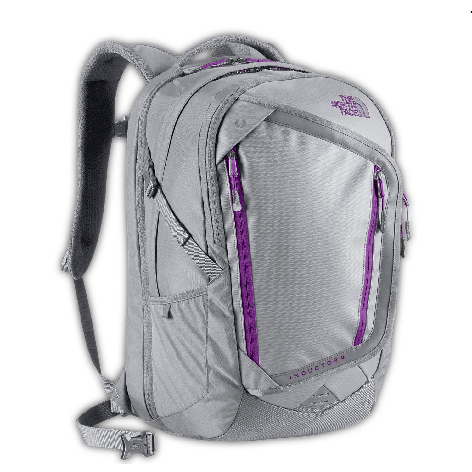 d334fae56f Women's The North Face | Inductor Charged Backpack | High Rise Grey with  Magenta