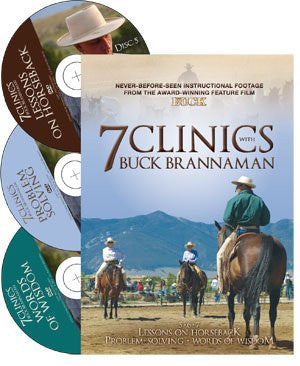 7 Clinics with Buck Brannaman DVD 3