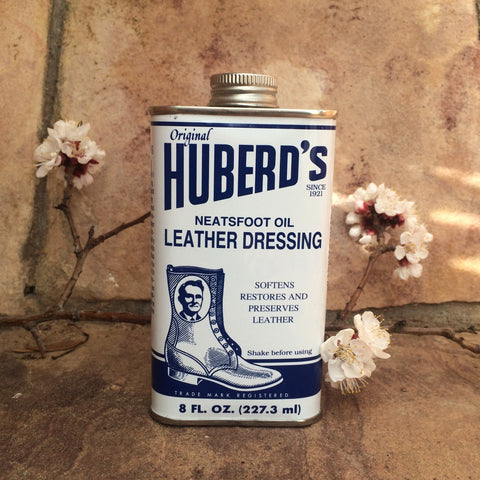 Huberd's Neatsfoot Oil Leather Dressing 8 oz.