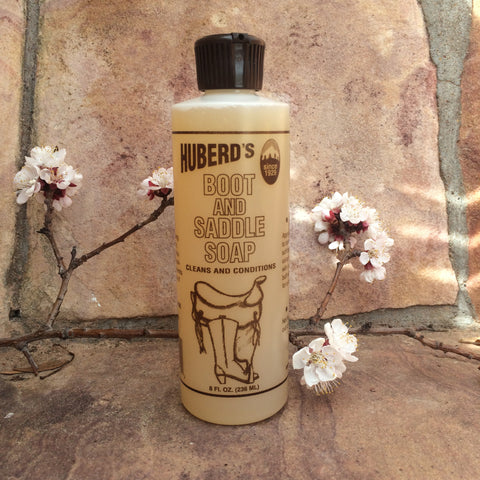 Huberd's Boot & Saddle Soap 8 oz.