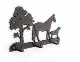 Dressage key rack