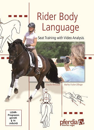 Rider Body Language DVD: Seat Training with Video Analysis by Marlies Fischer-Zillinger and Claudia Weissauer