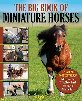 The Big Book of Miniature Horses: Everything You Need to Know to Buy, Care for, Train, Show, Breed, and Enjoy a Miniature Horse of Your Own by Kendra Gale