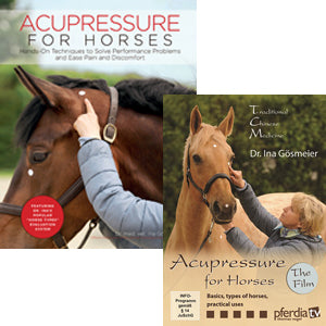 Acupressure for Horses Set – includes the book and DVD