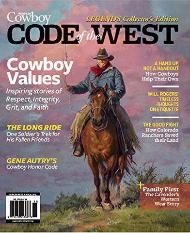 American Cowboy Code of the West, LEGENDS Collector's Edition