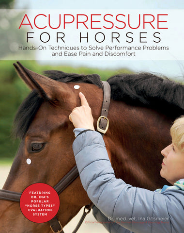 Acupressure for Horses: Hands-On Techniques to Solve Performance Problems and Ease Pain and Discomfort by Dr. Ina Gösmeier