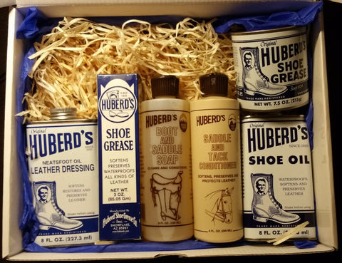Huberd's Shoe and Leather Care Gift Box