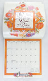 Vintage 1995 2023 Words of the Master Biblical Quotes Appointment Calendar